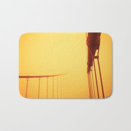 Golden - Golden Gate Bridge Bath Mat