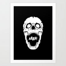 Say AAAH! Art Print