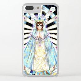 Virgen del Lujan Clear iPhone Case