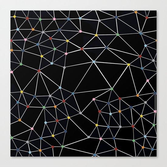 Seg with Color Spots Canvas Print