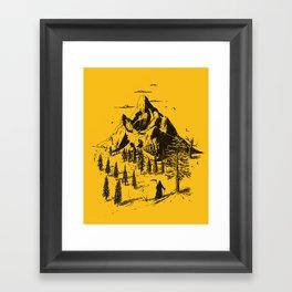Home! Sweet Home! Framed Art Print