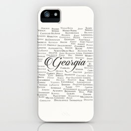 Georgia iPhone Case