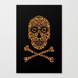 Skulleidoscope Canvas Print