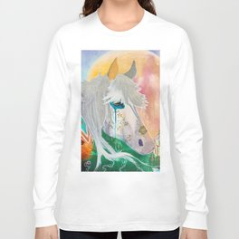You and me - Horses - Animal - by LiliFlore Long Sleeve T-shirt