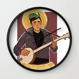 Carrie and Lowell Wall Clock