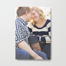 Couple2 Metal Print