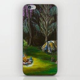 Just Camping iPhone Skin
