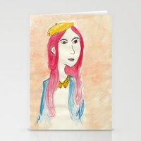 lip Stationery Cards featuring Fake Lip by Adlina Khairana