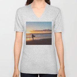 Venice Beach Surfer II Unisex V-Neck