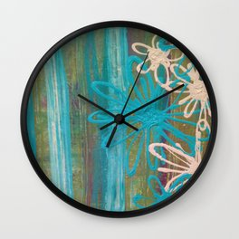 Oopsy Daisy Wall Clock