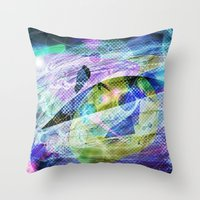alchemy Throw Pillows featuring Alchemy by andyk77