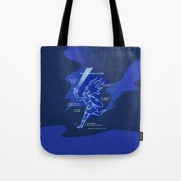 Warrior Girl 5 Tote Bag