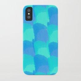 Bluesy Quilt iPhone Case