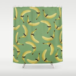 Mister Banano Shower Curtain