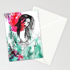 Tribal Beauty 5 Stationery Cards