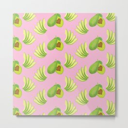 avocado love Metal Print