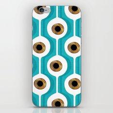 Eye Pod Turquoise iPhone & iPod Skin