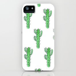 Saguaro Love II PATTERN iPhone Case