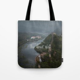 A different view of The Great Wall of China Tote Bag