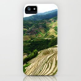 DRAGON'S BACKBONE // Longji Rice Terraces iPhone Case
