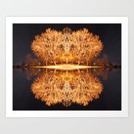 Quad Tree #5 Art Print