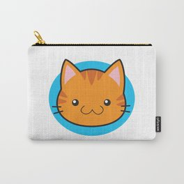 Love Cats: Orange Tabby Carry-All Pouch