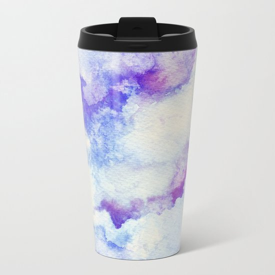 A 0 1 Metal Travel Mug