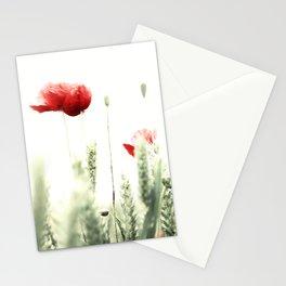 Poppy Poppies Mohn Mohnblume Stationery Cards