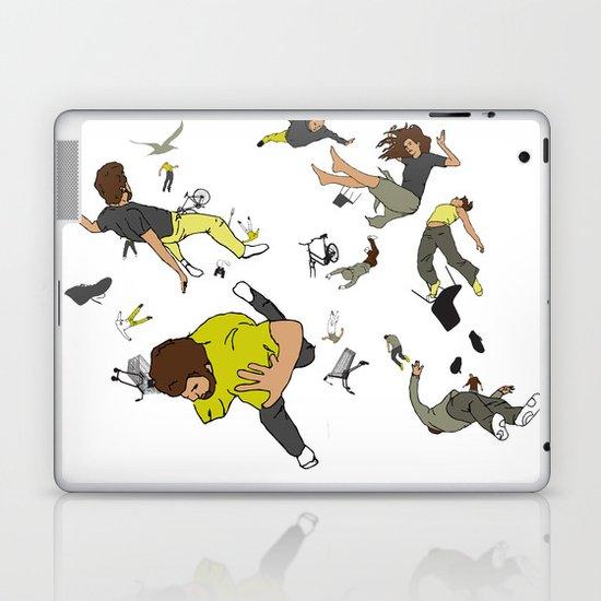 Falling Down Laptop & iPad Skin