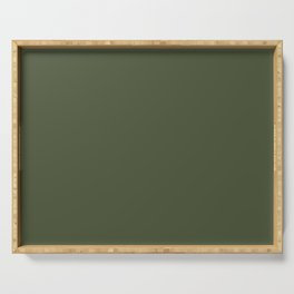Chive - Pantone Fashion Color Trend Spring/Summer 2020 NYFW Serving Tray