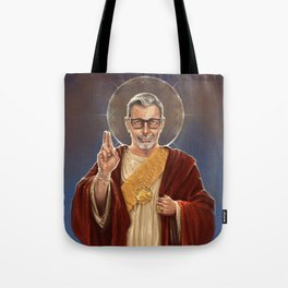 Saint Jeff of Goldblum Tote Bag