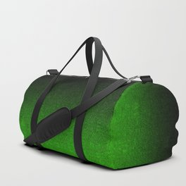 Green & Black Glitter Gradient Duffle Bag