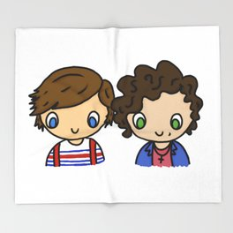 What Makes Larry Beautiful Throw Blanket