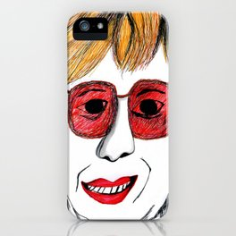 Andrea Riseborough on the battle of the sexes iPhone Case