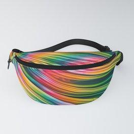 Strain Wave III. Tie-Dye Fanny Pack