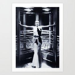 Joan Crawford - Grand Hotel Art Print