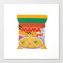 Mama Noodle Canvas Print