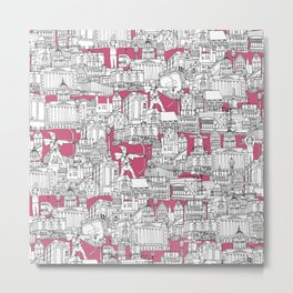 NOTTINGHAM BUBBLEGUM Metal Print