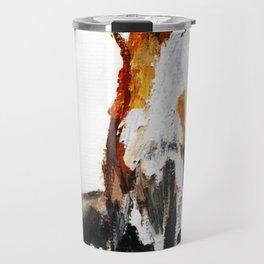 Woodland Fox (reverse edit) Travel Mug