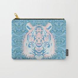 Pastel Quartz Tiger Carry-All Pouch