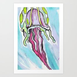 Jelly Fish #2 Art Print