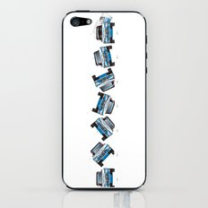 Ari Vatanen-Bruno Berglund, 1989 Paris Dakar crash sequence iPhone & iPod Skin