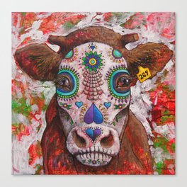 Day of the Dead, Love For the Living Canvas Print
