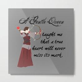 Beloved Queen Susan Metal Print