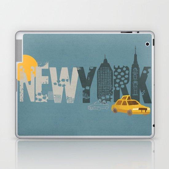 New York! New York! Laptop & iPad Skin