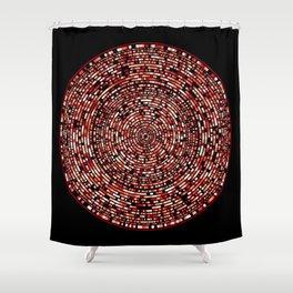 mosaic 9-1 Shower Curtain