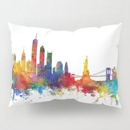 New York Skyline Pillow Sham