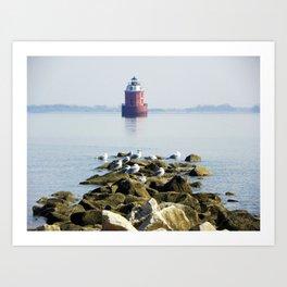 Lighthouse  Art Print