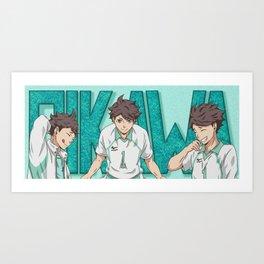 Haikyuu!! Oikawa Mug Design Art Print