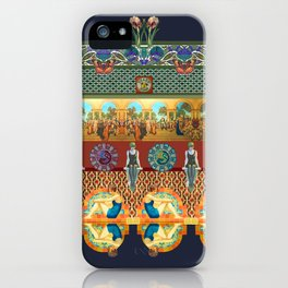 Lizzie Montgomery 'Turkish Bath' iPhone Case